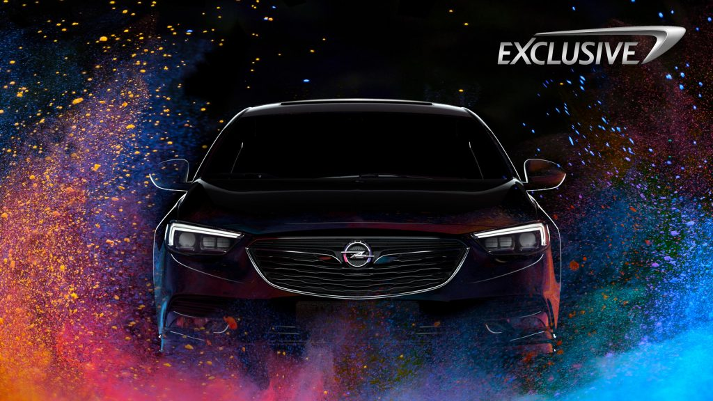 Make it yours: The new Opel Exclusive program will allow customers to choose from an unlimited amount of colors for their new Insignia.
