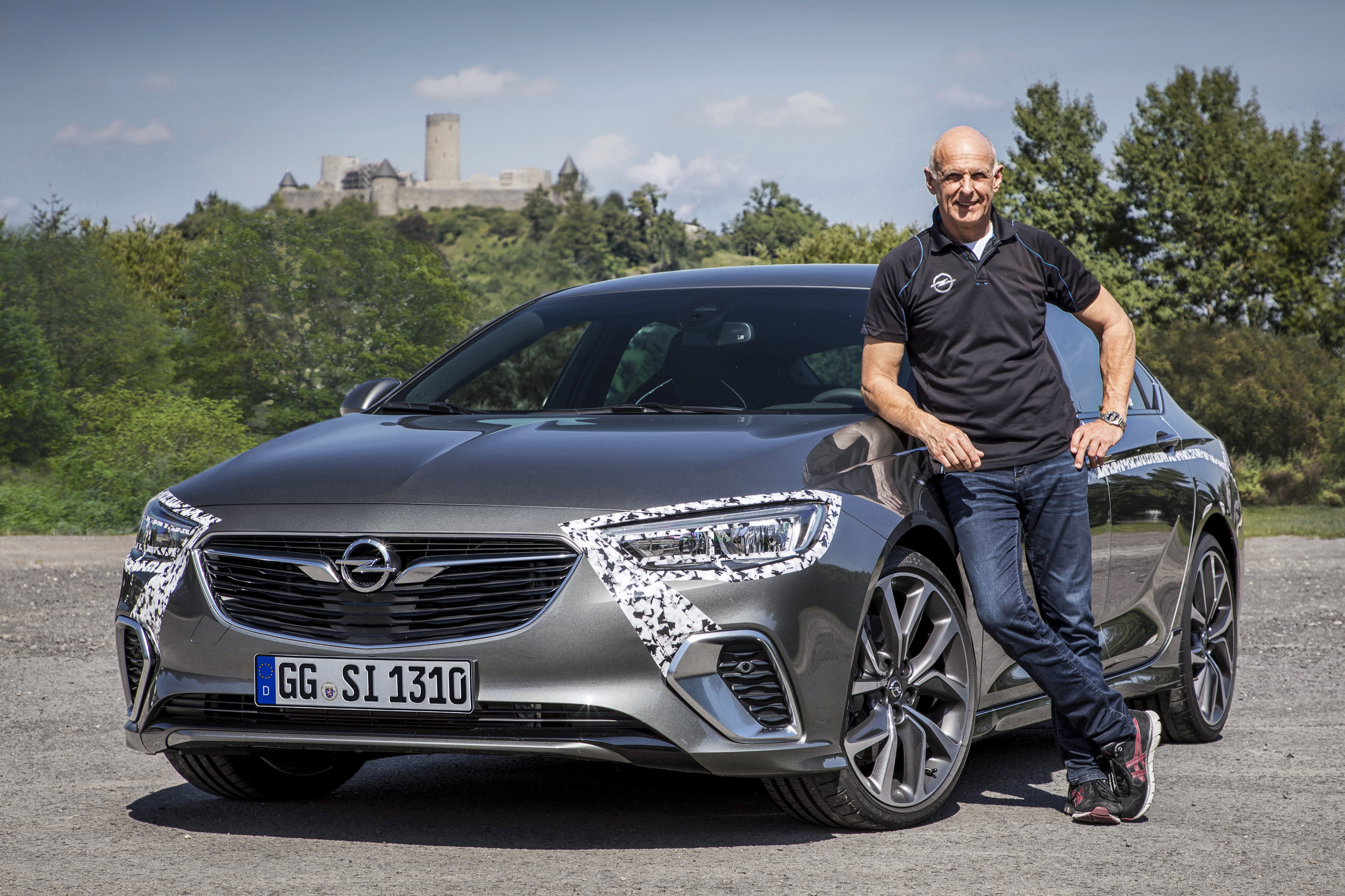 Nürburgring expert: Opel Director Performance Cars and Motorsport Volker Strycek pushed the new Insignia GSi to the limit on the Nordschleife.