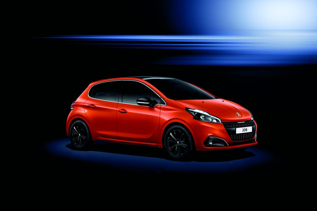 PEUGEOT 208 (orange power)
