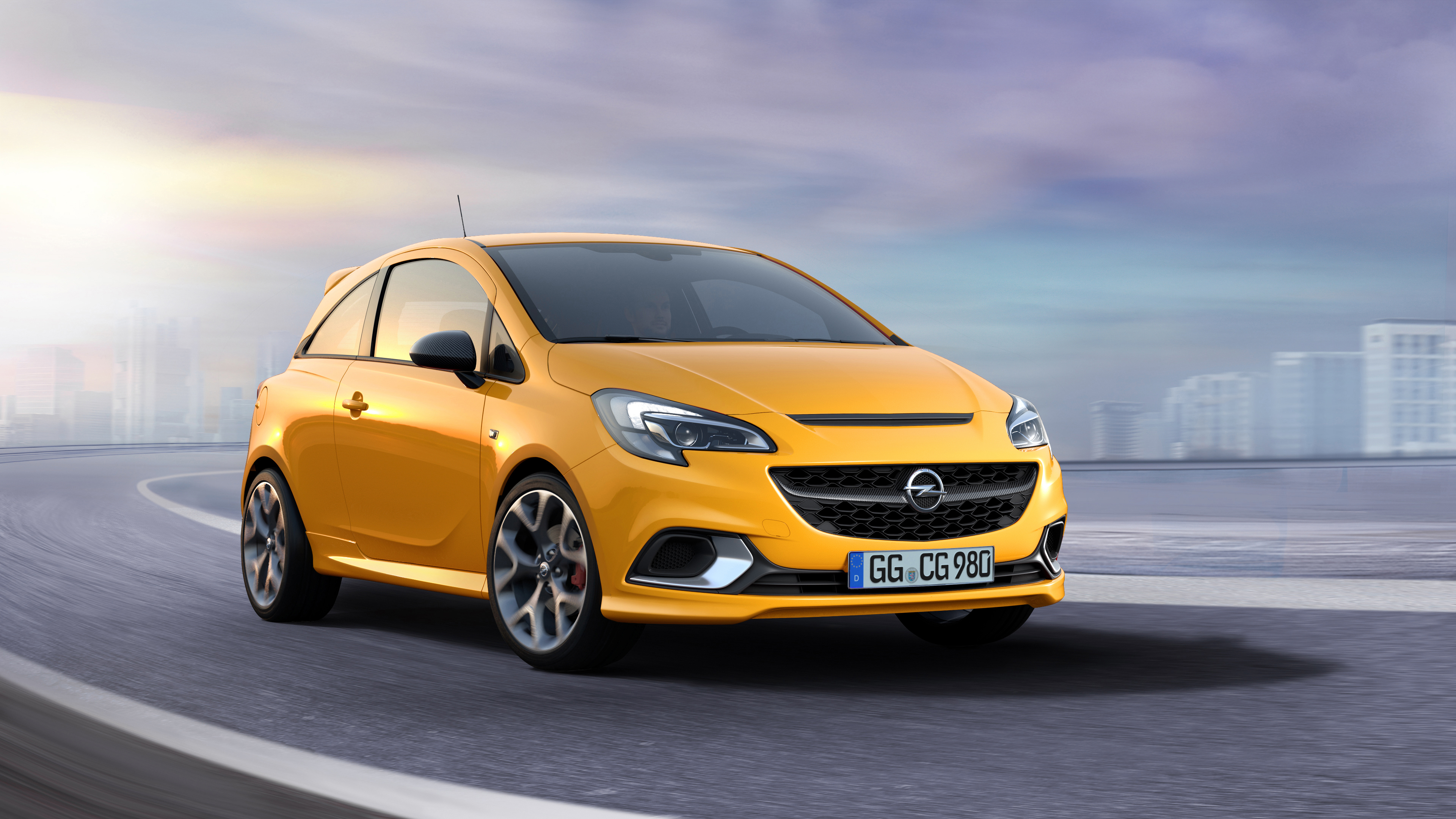 What you see is what you get: The sporty design of the Opel Corsa GSi reflects its fun-to-drive character.