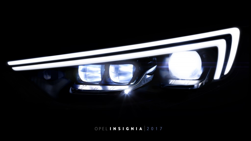 In the new Opel Insignia: The next generation IntelliLux LED® matrix headlamp turns night into day making visibility clearer, further and better than ever before.