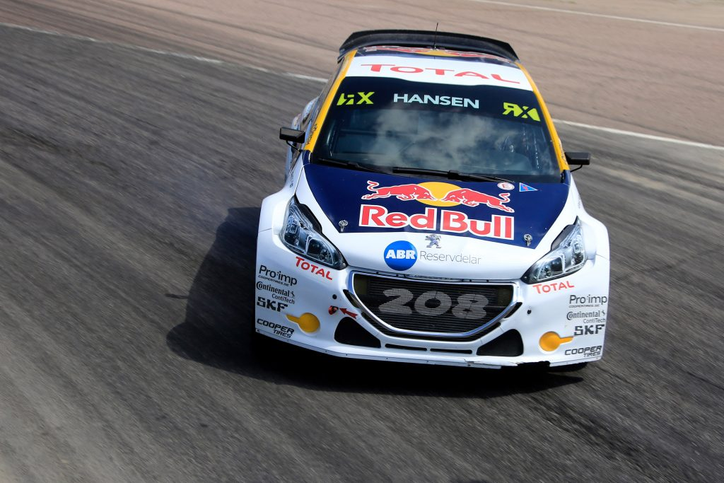 71 HANSEN Kevin (swe) Team Peugeot Hansen Peugeot 208 action during the Great Britain FIA WRX World Rallycross Championship 2017 at Lydden Hill on May  26 to 28 -  Photo Paulo Maria / DPPI