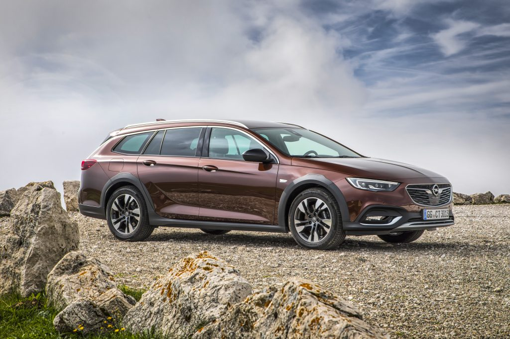 Rugged: The new Opel Insignia Country Tourer, which makes its world premiere at the Frankfurt International Motor Show, appeals to buyers in the market for a stylish, practical station wagon with off-road looks.
