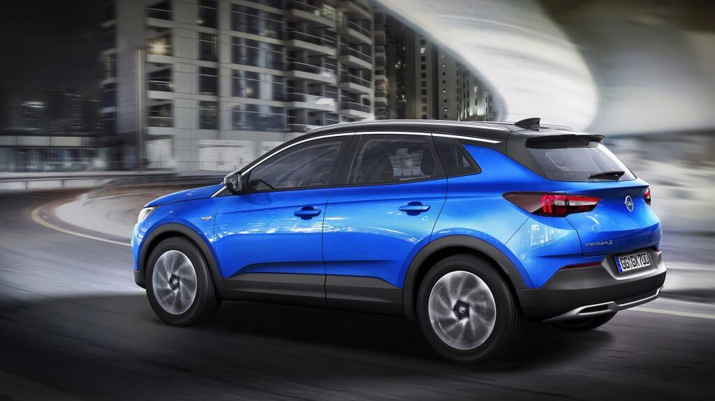 Opel Grandland X - embargoed until April 19th