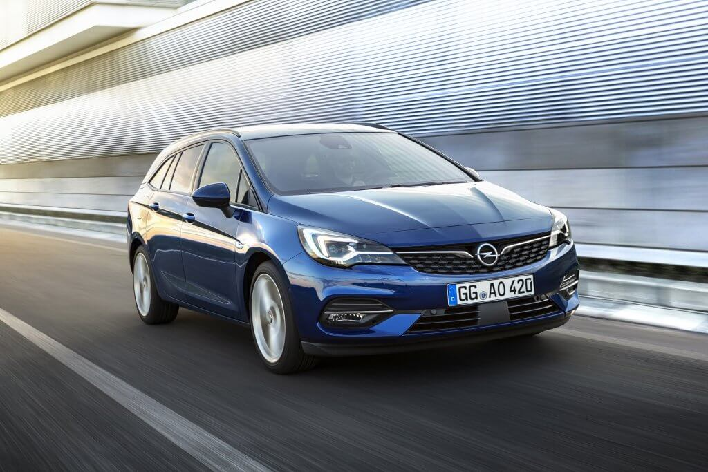 Novo Opel Astra Sports Tourer